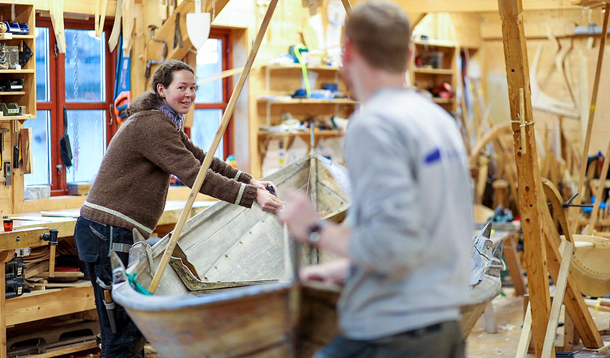 båtbyggjarane Beri og Stig